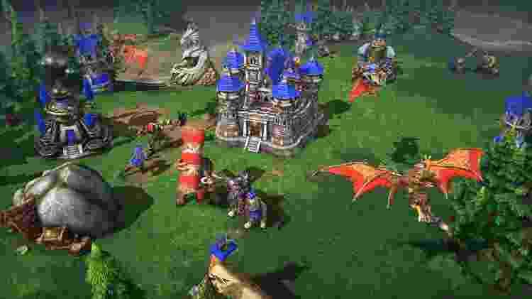 Warcraft III Guia 1 - Reprodução - Reprodução
