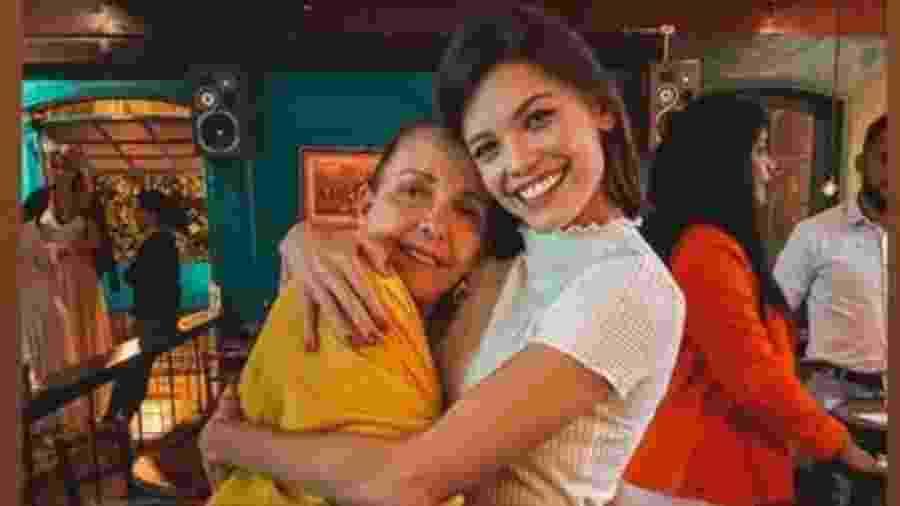 Vitória Strada no aniversário da sogra, Rosa, mãe de Marcella Rica - Reprodução/Instagram