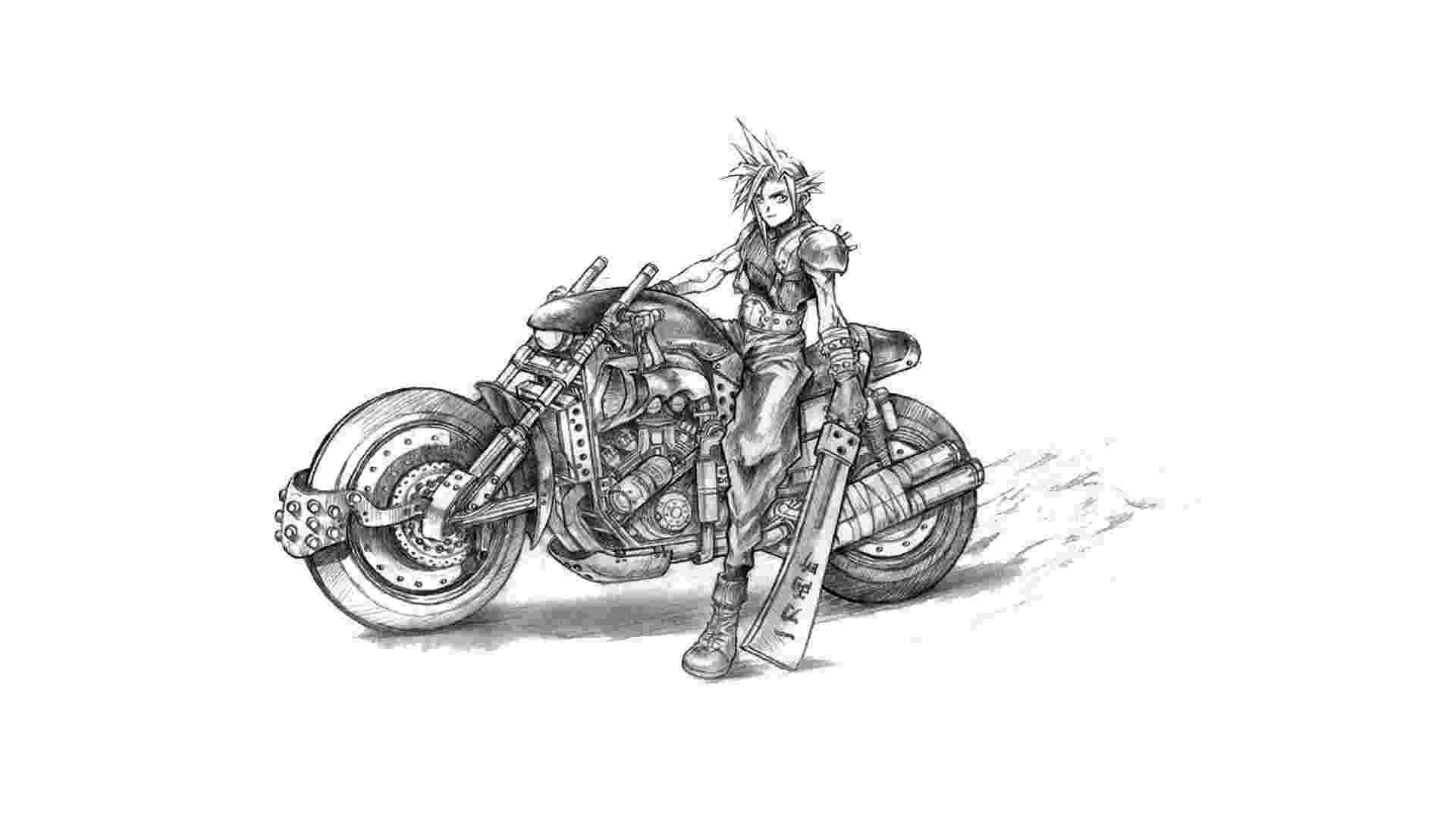 Final Fantasy VII - Artes Conceituais - Reprodução
