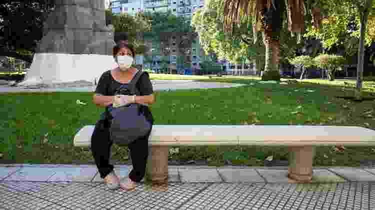Cidadãos argentinos reagem de formas diferentes à quarentena imposta pelo governo contra o coronavírus - NurPhoto/NurPhoto via Getty Images