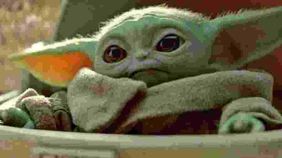 """Grogu, apelidado Baby Yoda, em """"The Mandalorian"""" - Divulgação"""