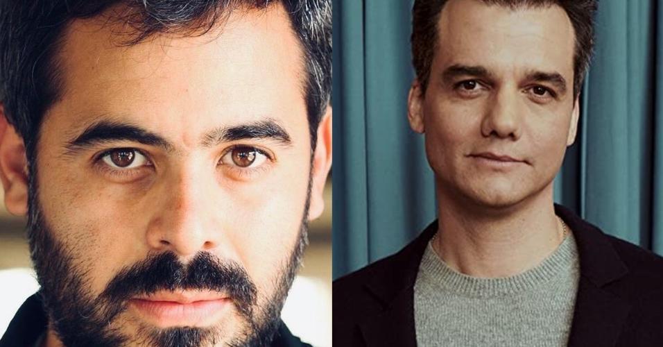 Guillermo Garcia e Wagner Moura