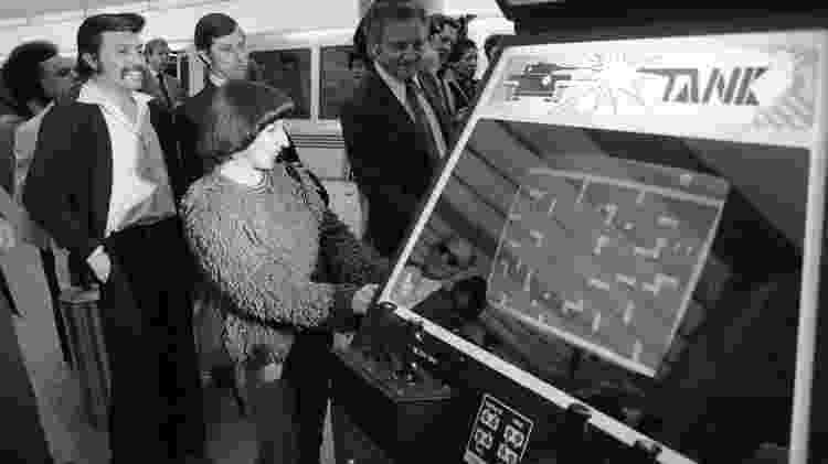 Atari Tank - San Francisco Chronicle/Hearst N/Hearst Newspapers/Getty Images - San Francisco Chronicle/Hearst N/Hearst Newspapers/Getty Images