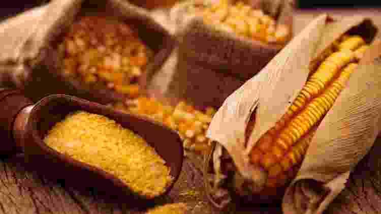 Milho pode ser encontrado de diferentes formas e todas têm seu papel na cozinha brasileira - Getty Images - Getty Images