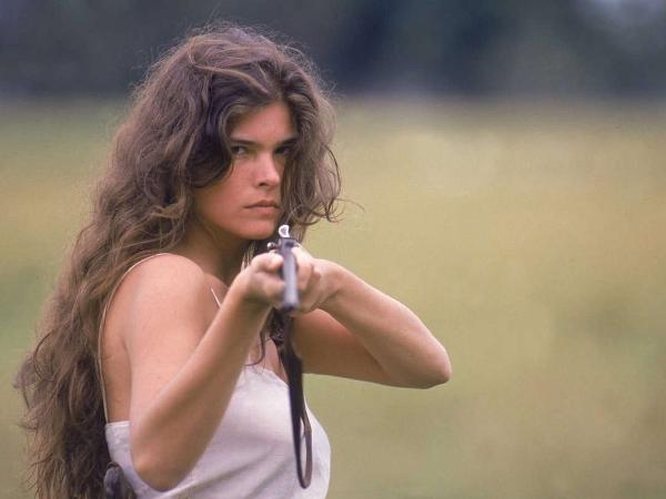 Cristiana Oliveira é Juma Marruá em 'Pantanal', da extinta TV Manchete