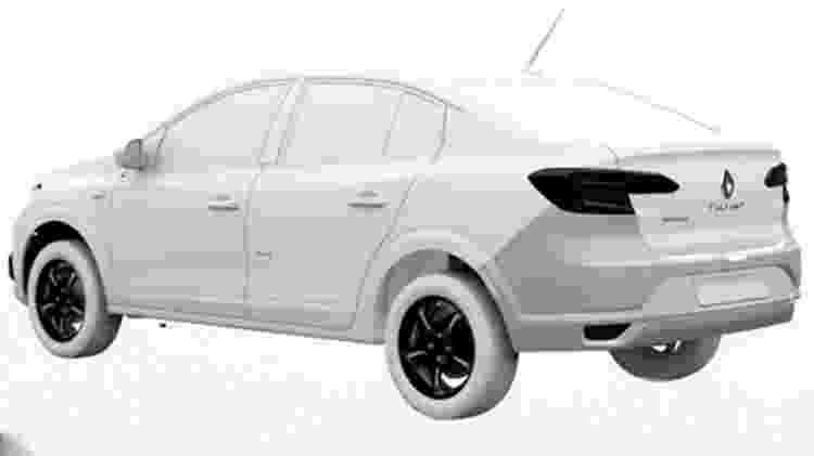 Renault Logan 2022  - Reprodução/Cochespias.es - Reprodução/Cochespias.es
