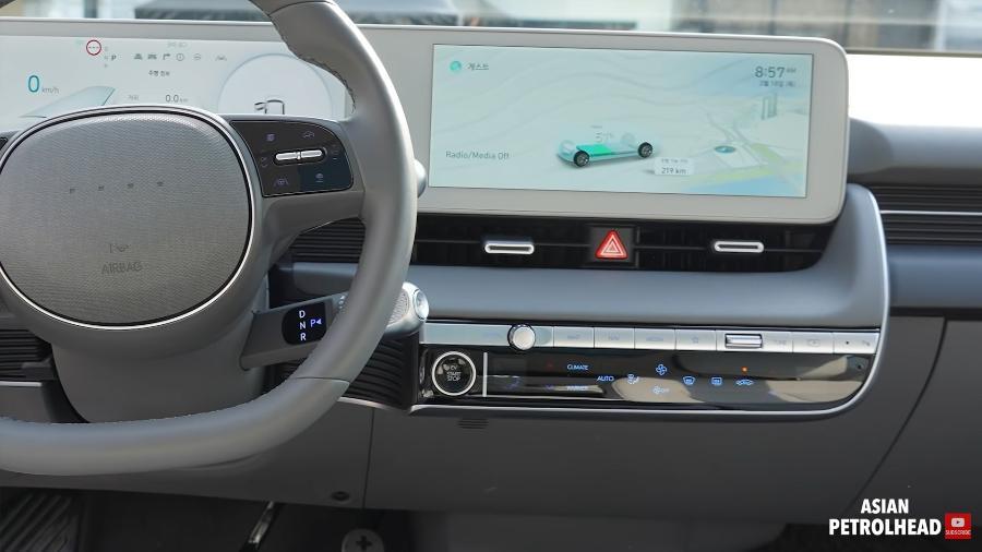 Tour interno no Hyundai Ioniq 5 - Reprodução