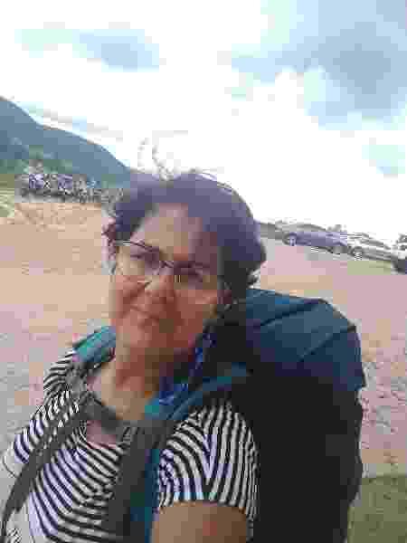 Marcia Reis descobriu as maravilhas de mochilar - Arquivo pessoal - Arquivo pessoal