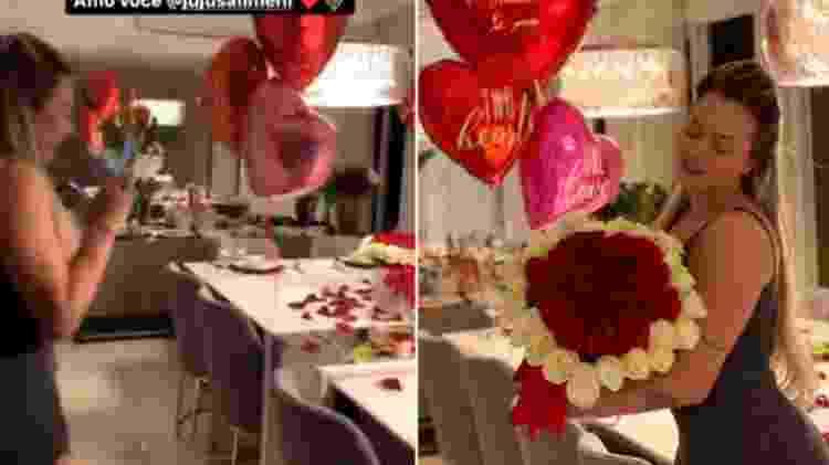 Helisson Dias publicou homenagem de Dia dos Namorados a Juju Salimeni - Reprodução/Instagram - Reprodução/Instagram