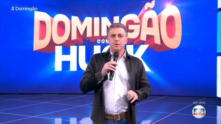 """Luciano Huck no """"Domingão com Huck"""" - Reprodução/TV Globo"""
