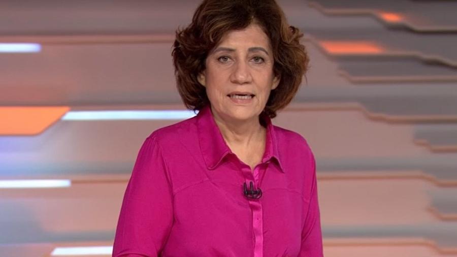 Miriam Leitão comentou expectativa de discurso do presidente Jair Bolsonaro (sem partido) na Assembleia-Geral da ONU - Reprodução/TV Globo