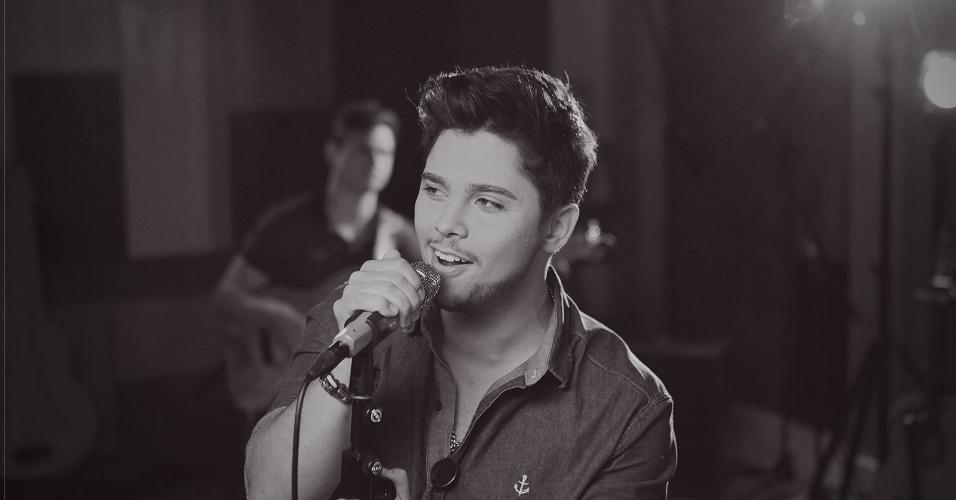 O cantor Renato Vianna, vencedor da quarta temporada do