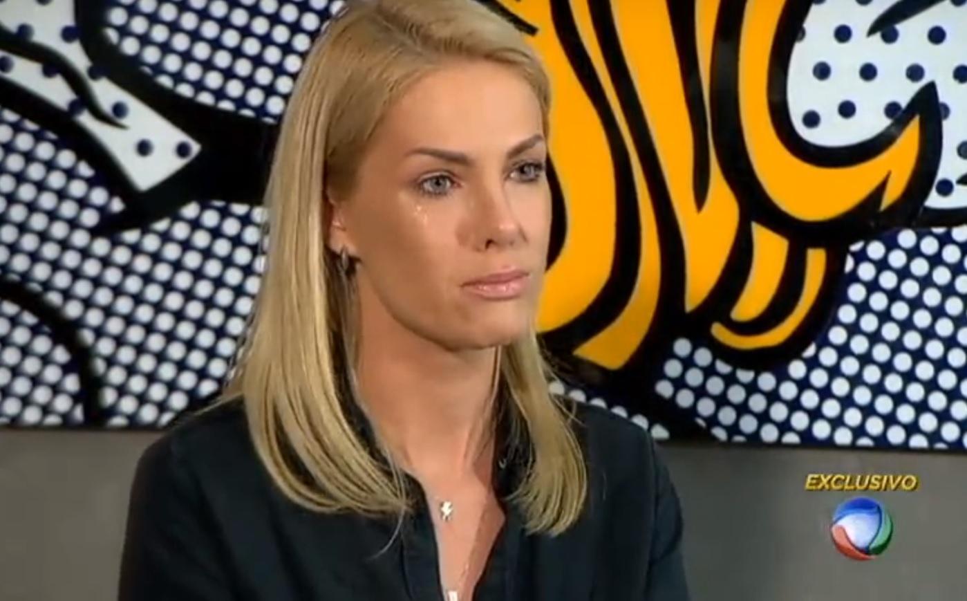 Ana Hickmann lamenta julgamento do cunhado
