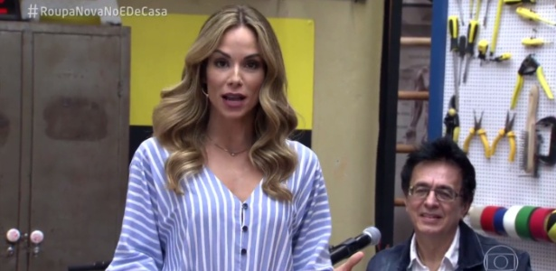 """Ana Furtado relembra participação na abertura de """"Explode Coração"""" no """"É de Casa"""" - Reprodução/TV Globo"""