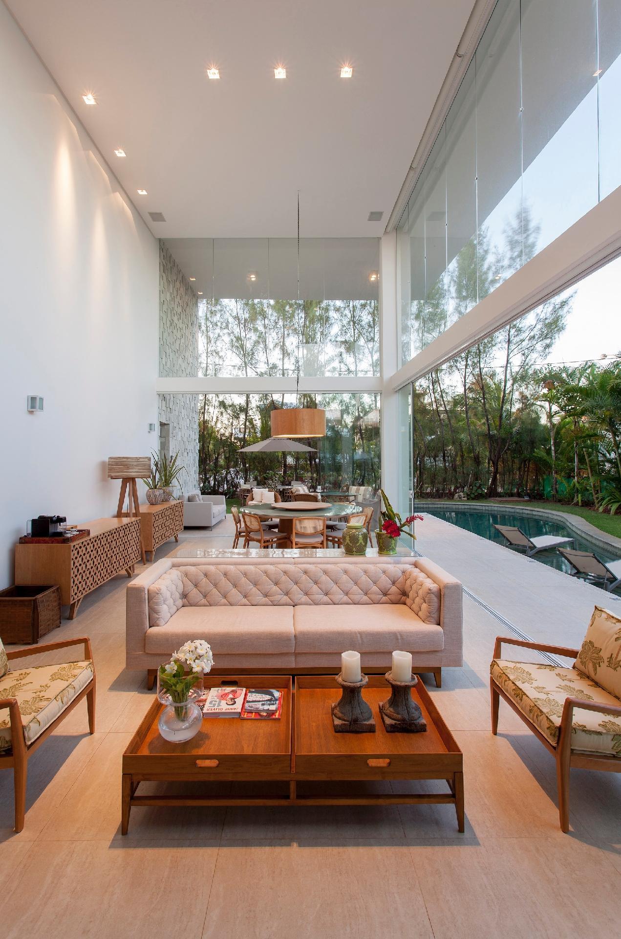 Fotos de salas de estar ideias para decorar salas de for Fotos de sala de estar