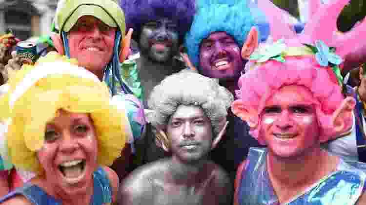 26.fev.2017 - Foliões acompanham o Bloco Cordão do Boitatá, na Praça XV, Zona Portuária do Rio de Janeiro (RJ), na manhã deste domingo (26) - Fábio Teixeira - 26.fev.2017/UOL - Fábio Teixeira - 26.fev.2017/UOL