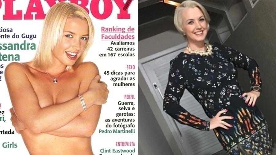 """Assistente de palco de Gugu Liberato, Alessandra Scatena estava no auge em 1997 quando foi capa da """"Playboy"""" de setembro"""