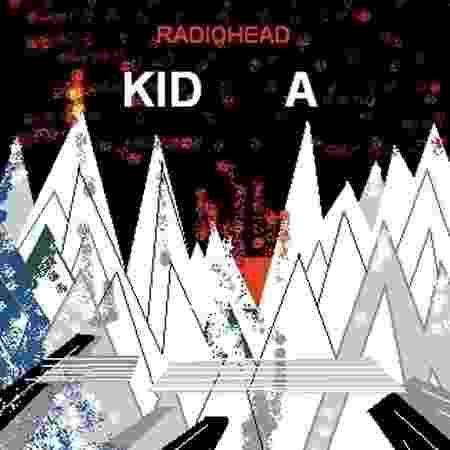 """""""Kid A"""" (2000), Radiohead - Reprodução - Reprodução"""