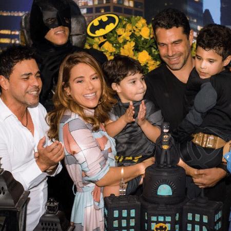 Wanessa Camargo com a família - Reprodução/Instagram