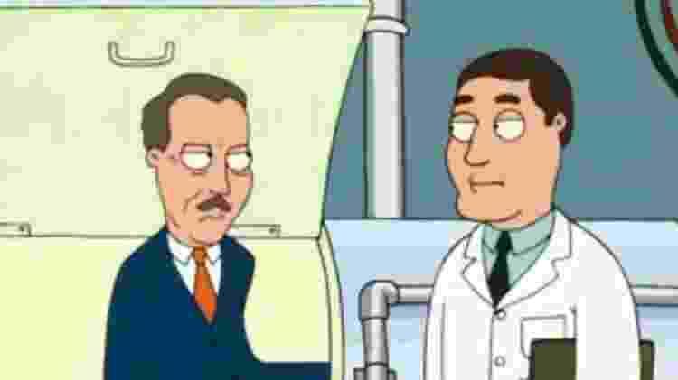 """""""Family Guy"""" fez piada com o antissemitismo de Walt Disney - Reprodução - Reprodução"""