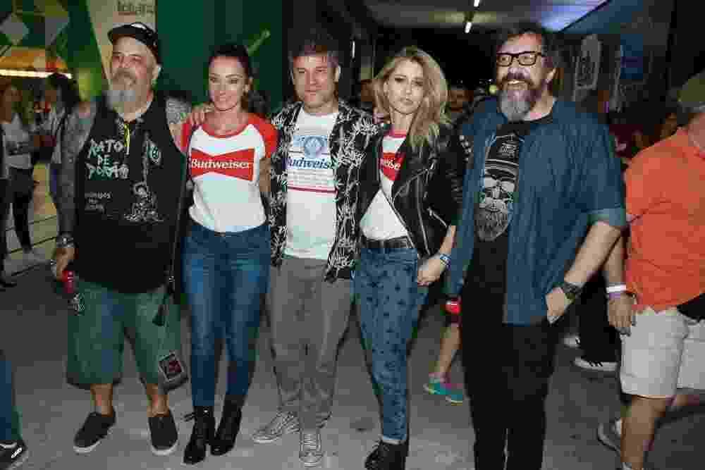 Ex-VJs da MTV no Lollapalooza - todos - Amauri Nehn/Brazil News
