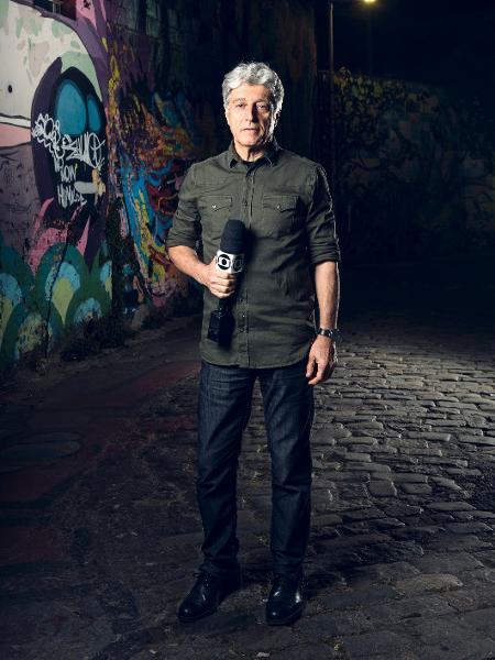"""Caco Barcellos, do """"Profissão Repórter"""" - Ramon Vasconcelos/TV Globo"""
