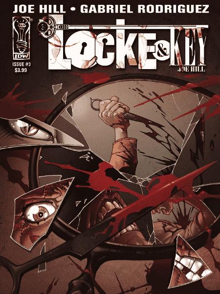"""Capa da HQ """"Locke & Key"""", co-criada por Joe Hill, filho de Stephen King - Reprodução"""
