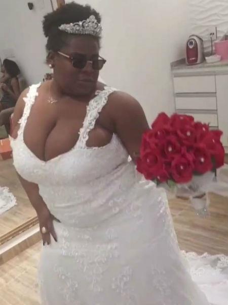 Jojo Todynho tira onda ao se vestir de noiva - Reprodução/Instagram