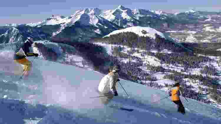 Esqui em Telluride, nos Estados Unidos - Getty Images - Getty Images
