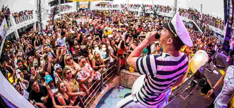 Wesley Safadão faz mais de seis horas de show em seu cruzeiro temático - Ederson Lima/Divulgação