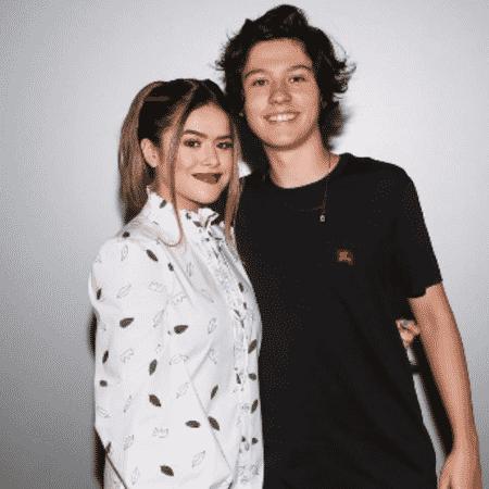 Maísa Silva com o namorado, Nicholas Arashiro - Reprodução/Instagram