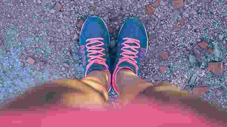 tênis de corrida - iStock - iStock