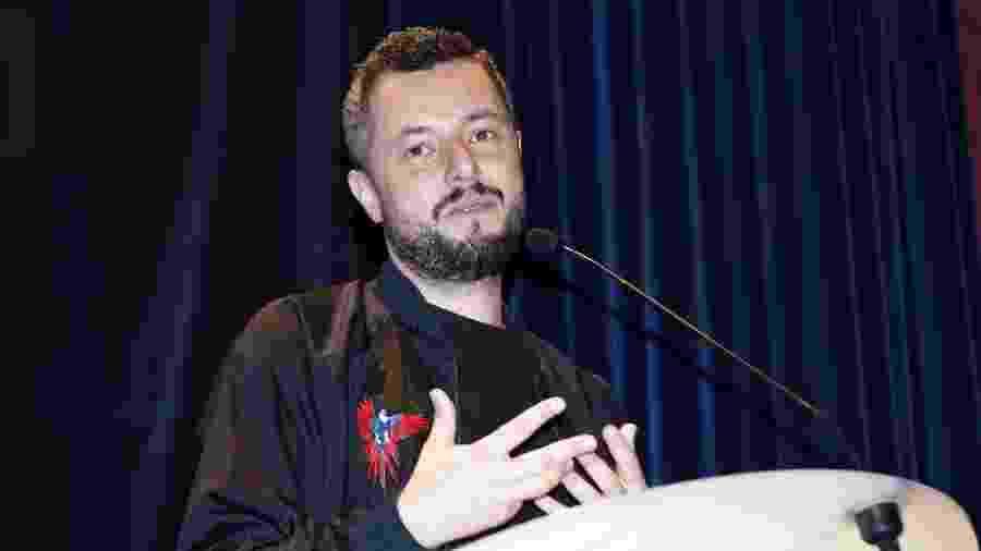 04.02.2018 - O diretor brasileiro Marco Dutra no Festival de Gerardmer - Getty Images