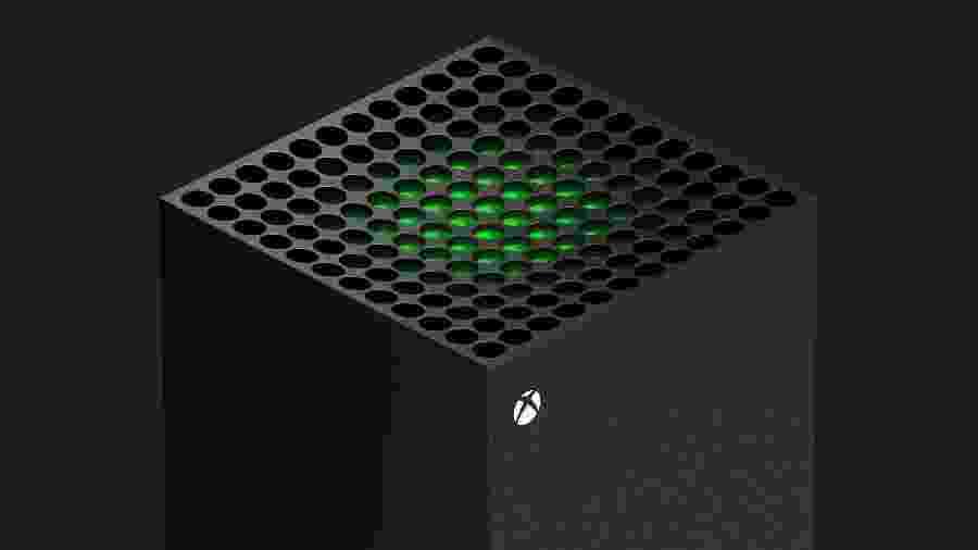 Xbox Series X vai adotar um design vertical, diferente do atual Xbox One - Divulgação/Microsoft