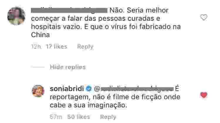 Sonia Bridi - Reprodução/Instagram - Reprodução/Instagram