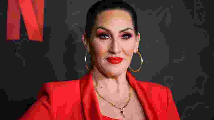 "09.01.2020 - Michelle Visage em evento da série ""AJ and the Queen"", em Los Angeles (EUA) - Rodin Eckenroth/FilmMagic"