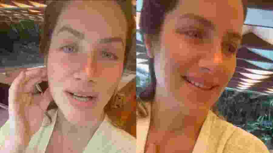 Giovanna Ewbank fala sobre amamentação em casa - Reprodução/Instagram