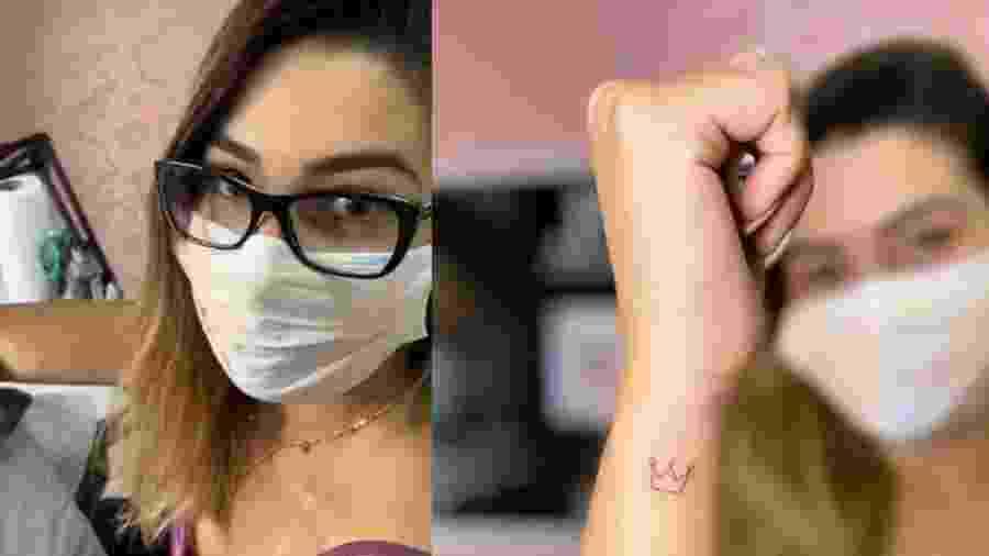 Vivian Amorim exibe tatuagem no pulso - Reprodução/Instagram