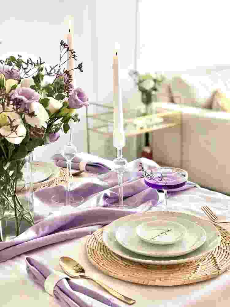 Flores são as principais aliadas da decoração no apartamento - Arquivo Pessoal - Arquivo Pessoal