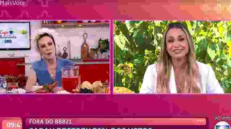 Ana Maria - Reprodução/TV Globo - Reprodução/TV Globo