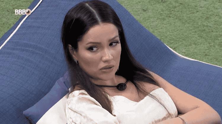 BBB 21: Juliette conversa com Viih Tube no jardim - Reprodução/Globoplay - Reprodução/Globoplay