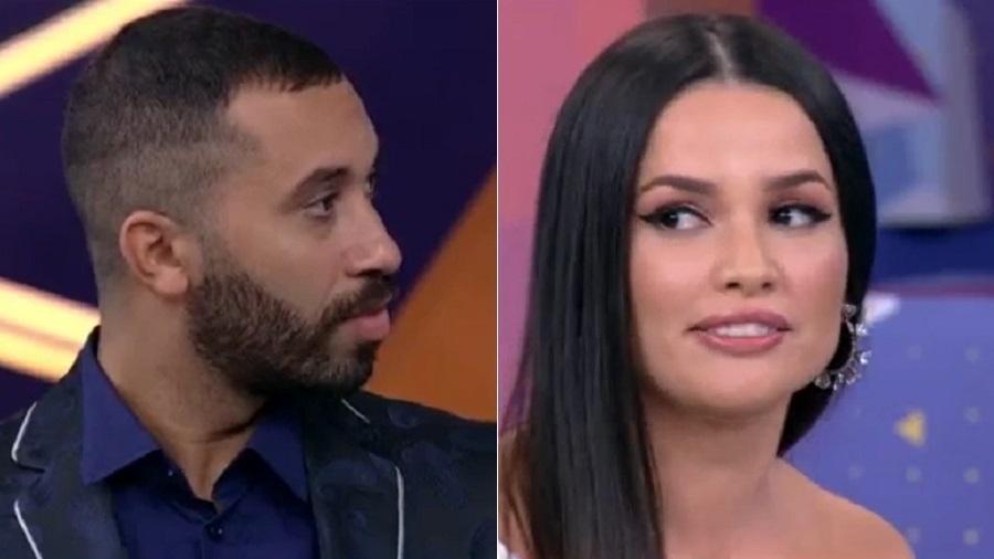 BBB 21: Juliette e Gilberto relembram treta sobre maquiagem - Reprodução/Globoplay