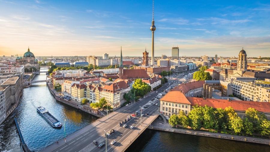 Berlim vista de cima: cidade ganhou novo museu - Getty Images/iStockphoto