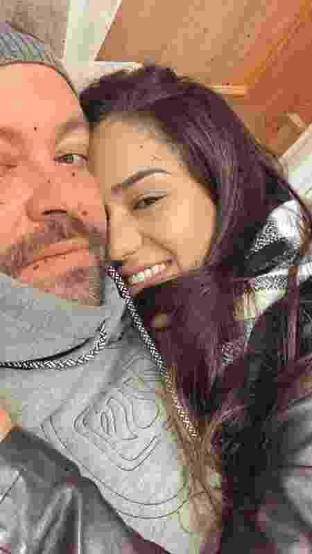 """O casal Claudia e Thiago vivem um romance que mais parece a série """"Grey's Anatomy"""" - Arquivo pessoal - Arquivo pessoal"""
