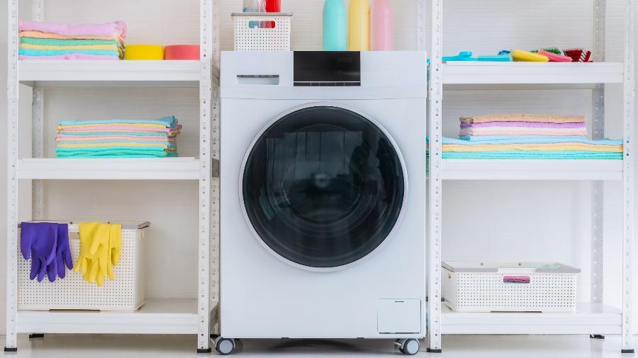 Equipar a lavanderia exige planejamento de acordo com o espaço disponível - Getty Images