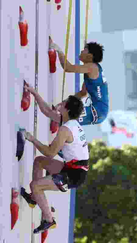 Escalada olímpica - benefícios do esporte -  Maja Hitij / Equipe/ Getty Images -  Maja Hitij / Equipe/ Getty Images