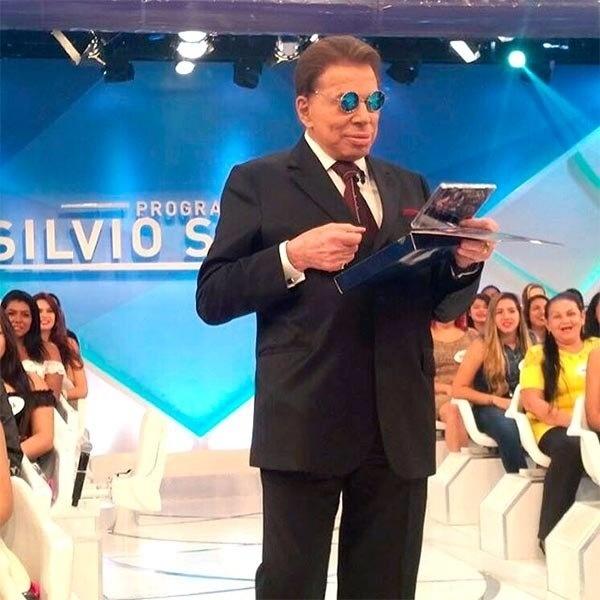 a2a96faf2866e Problema na garganta afasta Silvio Santos das gravações - blogs e ...