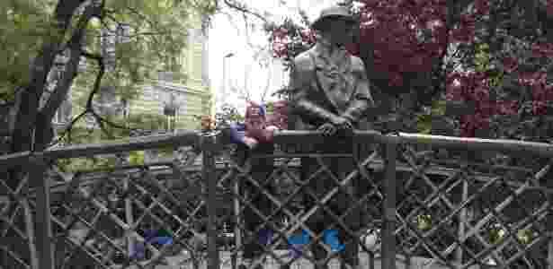 Símbolo da Revolução de 1956, Imre Nagy tem sua estátua em destaque em Budapeste - Marcel Vincenti/UOL - Marcel Vincenti/UOL