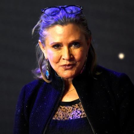 A atriz Carrie Fisher recebeu um Grammy por seu livro - Reuters