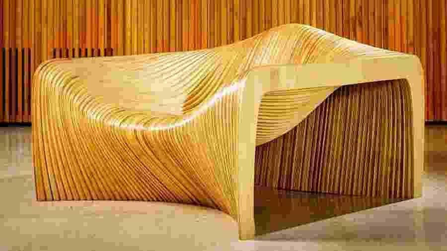 """Duna Loungechair, do Mula Preta Design - Reprodução/A"""" Design Award & Competition"""